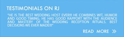 Testimonials on RJ